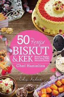 50 Resipi Biskut & Kek (Edisi Kedua)
