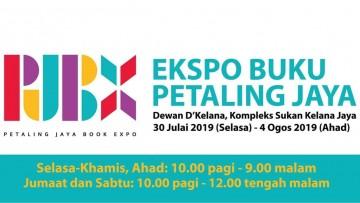 Memburu Buku di Petaling Jaya Book Expo (PJBX)